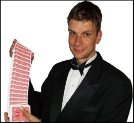 Magic Man-comedy magic and stage magician